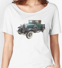 1930 Ford Model A Antique Pickup Truck Women's Relaxed Fit T-Shirt