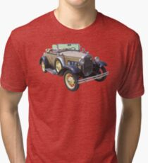 1931 Ford Model A Cabriolet Antique Car Tri-blend T-Shirt