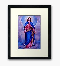 Mary Framed Print