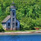 Old light House by Michael  Herrfurth