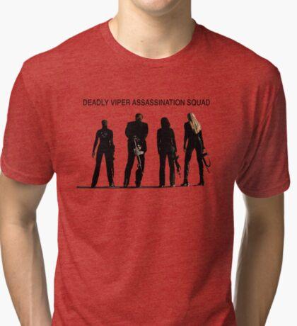 Deadly Viper Assassination escuadra - Kill Bill Camiseta de tejido mixto