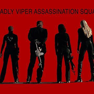 Deadly Viper Assassination Squad - Kill Bill by FKstudios