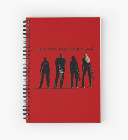 Deadly Viper Assassination escuadra - Kill Bill Cuaderno de espiral