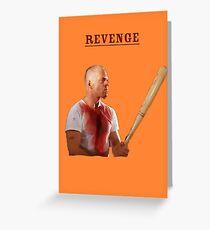 Pulp Fiction - Revenge Greeting Card