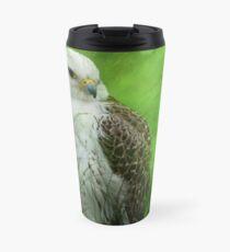 Gyr x Saker  Falcon  Travel Mug
