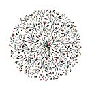 Mandala ornament by Kudryashka