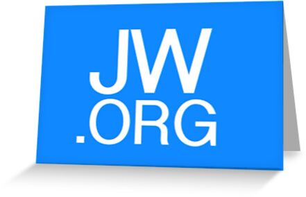 jw org greeting cards by bugmanz redbubble