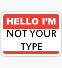 type Sticker