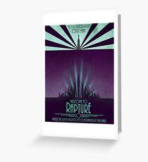 Bioshock - Rapture Greeting Card