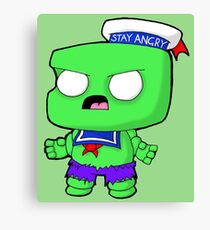 Stay Angry Canvas Print