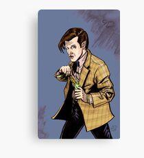 The Doctor...Geronimo!!! Canvas Print
