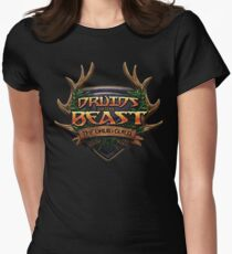 Druids of the Beast Crest Women's Fitted T-Shirt