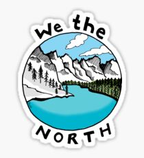 We The North 01 Sticker