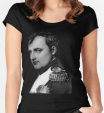 The Emperor Napoleon Bonaparte Fitted Scoop T-Shirt