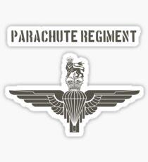 Parachute Regiment (UK) Black Sticker