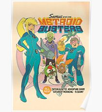 Samus and the Metroid Busters Poster