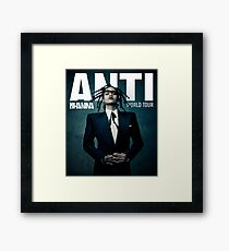 Anti World Tour Rhn Framed Print