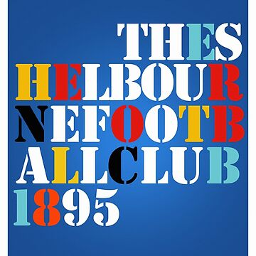 THE SHELBOURNE FOOTBALL CLUB 1895 (STONE ROSES) - PRINT by 1895Trust