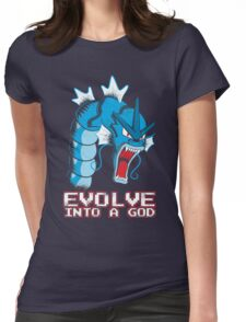 Evolve into a GOD Womens Fitted T-Shirt