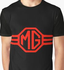 Mg Car Company Safety Fast England Graphic T-Shirt