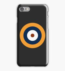 Royal Air Force - Historical Roundel Type A.1 1937 - 1939 iPhone Case/Skin