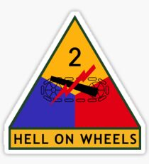 2nd Armored Division (United States) Sticker