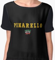 Pinarello Vintage Racing Bicycles Italy Women's Chiffon Top