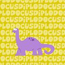 Diplodocus by Sonia Pascual