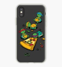Vinilo o funda para iPhone Amante de la pizza