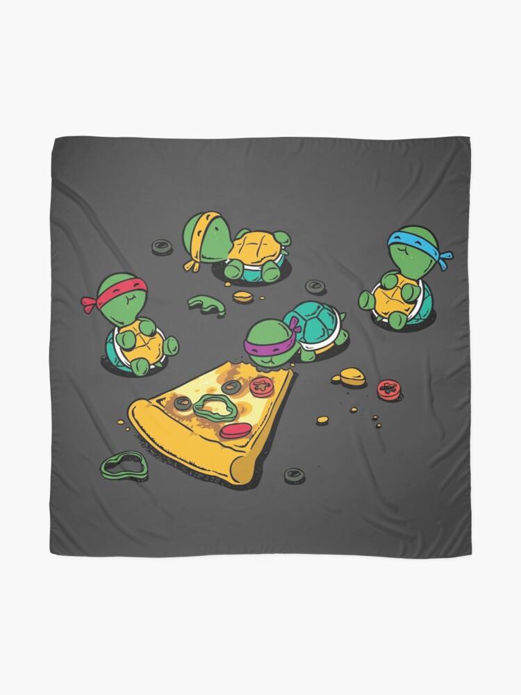 Vista alternativa de Pañuelo Amante de la pizza