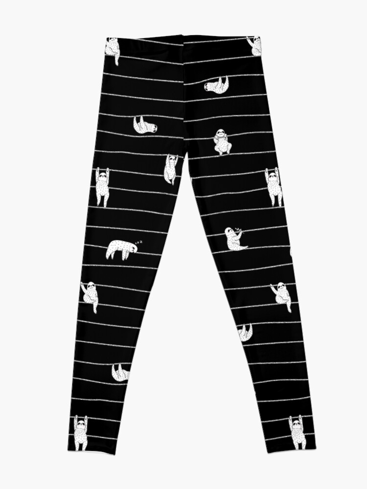 Alternate view of Sloth Stripe Leggings