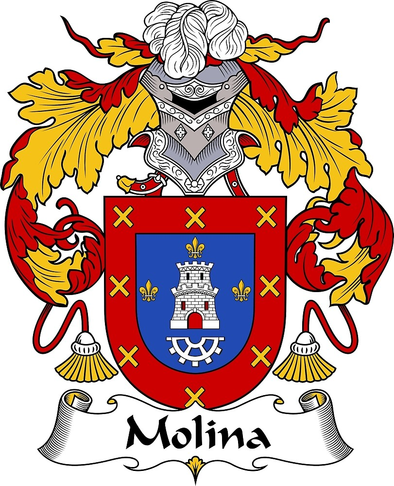 Molina Coat of Arms/Family Crest by William Martin