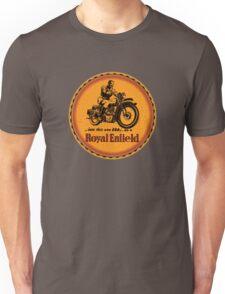 Royal Enfield vintage British Motorcycles Unisex T-Shirt