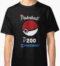 Pokemon Pokeball Pokemart Ad Classic T-Shirt