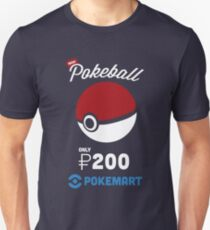 Pokemon Pokeball Pokemart Ad Unisex T-Shirt