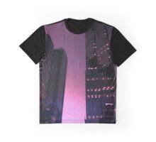 644049 Starlit high-rises Graphic T-Shirt