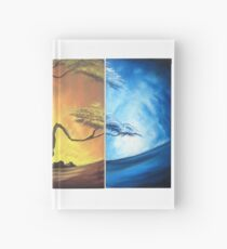 4 Seasons of the year Hardcover Journal