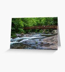 Fires Creek North Carolina Greeting Card