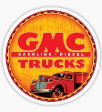 GMC vintage trucks USA Gasoline ~ Diesel Sticker