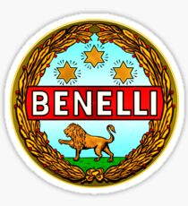 Benelli Vintage motorcycle Italy Sticker
