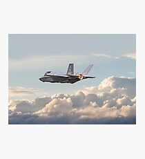 F35 - Into the Future Photographic Print
