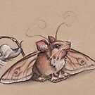 The ever elusive MothMouse by justteejay