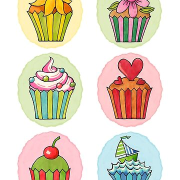 Quirky Cupcakes by mrana