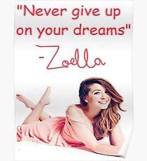 Zoella - DREAMS Poster