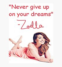 Zoella - DREAMS Photographic Print