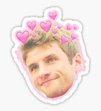 Thomas Muller - Heart Crown Sticker