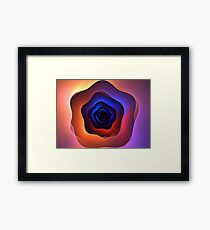 Blue Star System Framed Print