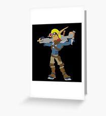 Jak 2 Renegade-Jak Greeting Card