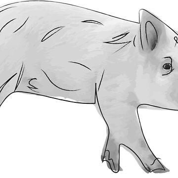 Pig by Oneryanjoseph