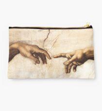 Michaelangelo - Sistine Chapel - Creation of Adam Studio Pouch